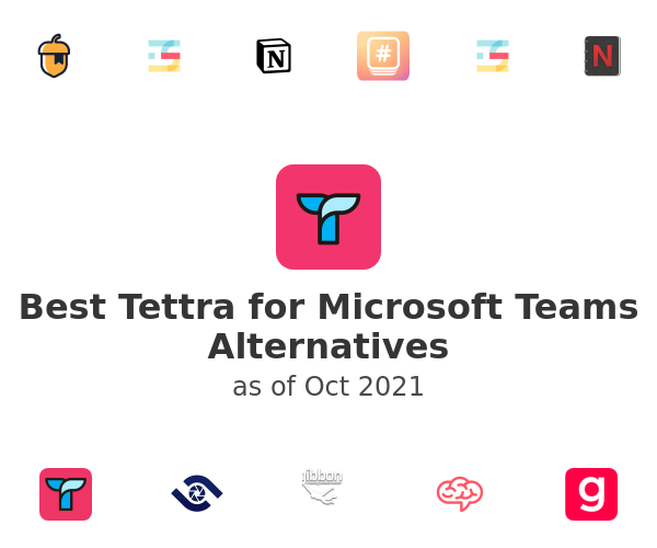 Best Tettra for Microsoft Teams Alternatives