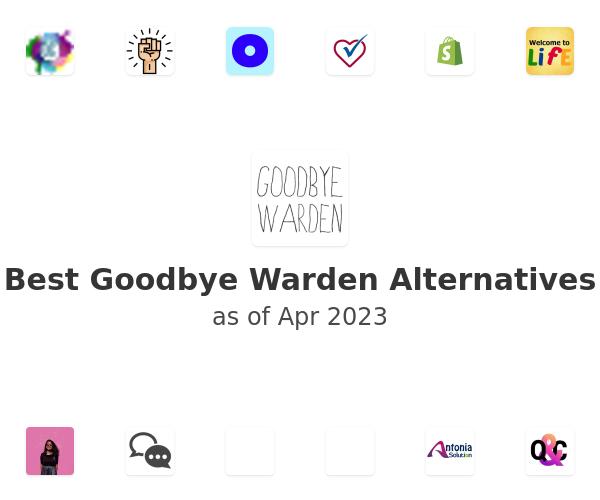 Best Goodbye Warden Alternatives