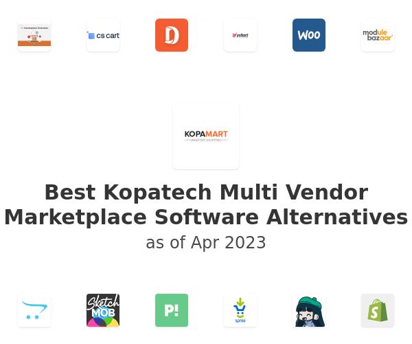 Best Kopatech Multi Vendor Marketplace Software Alternatives