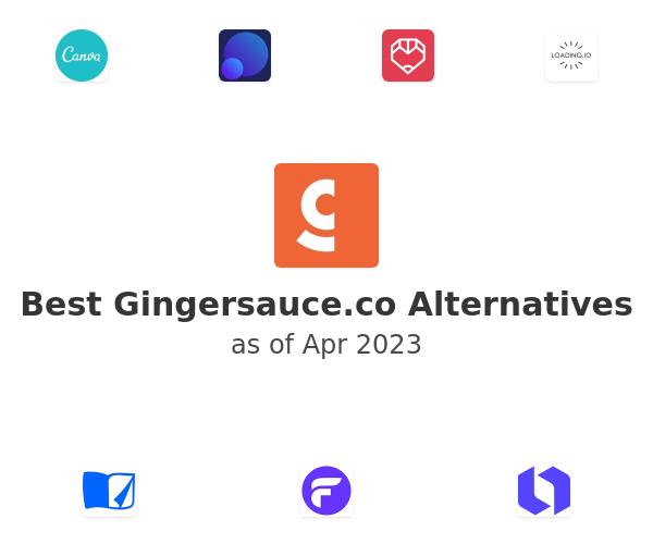 Best Gingersauce.co Alternatives