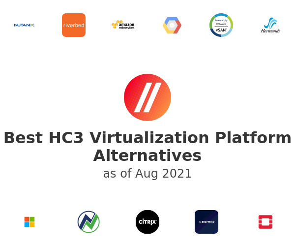 Best HC3 Virtualization Platform Alternatives