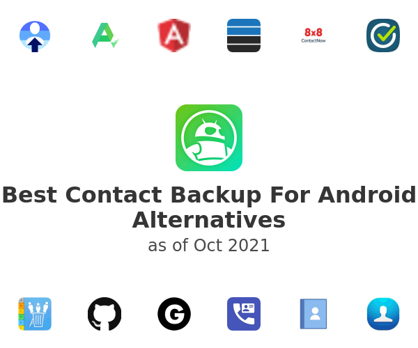 Best Contact Backup For Android Alternatives