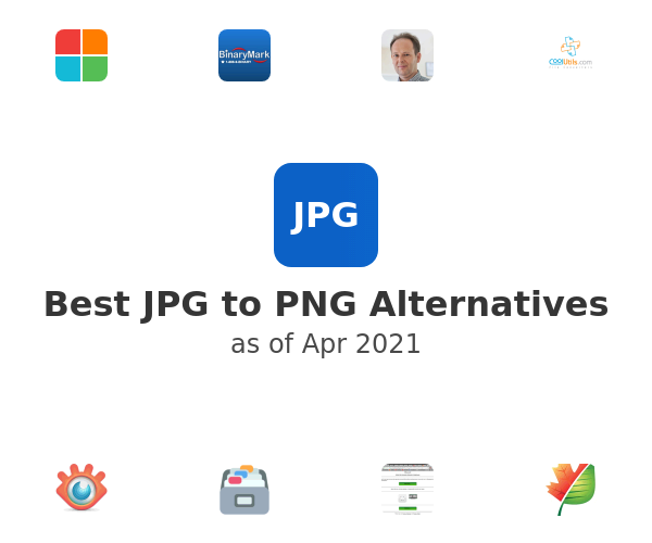 Best JPG to PNG Alternatives