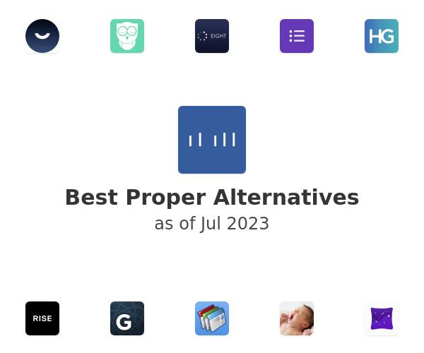 Best Proper Alternatives