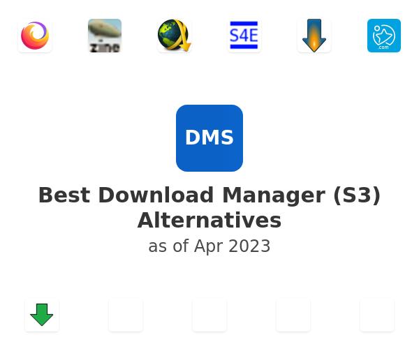 Best Download Manager (S3) Alternatives