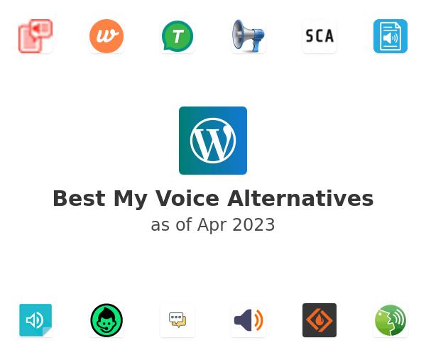 Best My Voice Alternatives