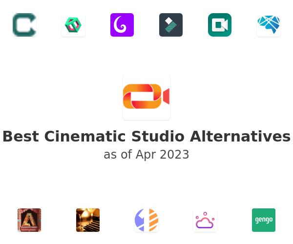 Best Studio Cinematic Alternatives