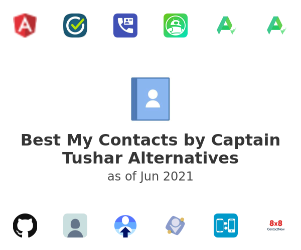 Best My Contacts by Captain Tushar Alternatives