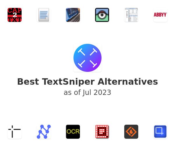 Best TextSniper Alternatives