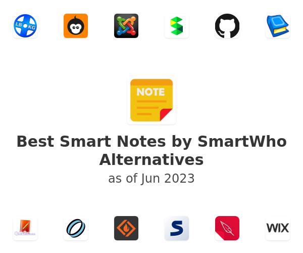 Best Smart Notes by SmartWho Alternatives