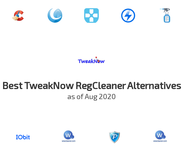 Best TweakNow RegCleaner Alternatives