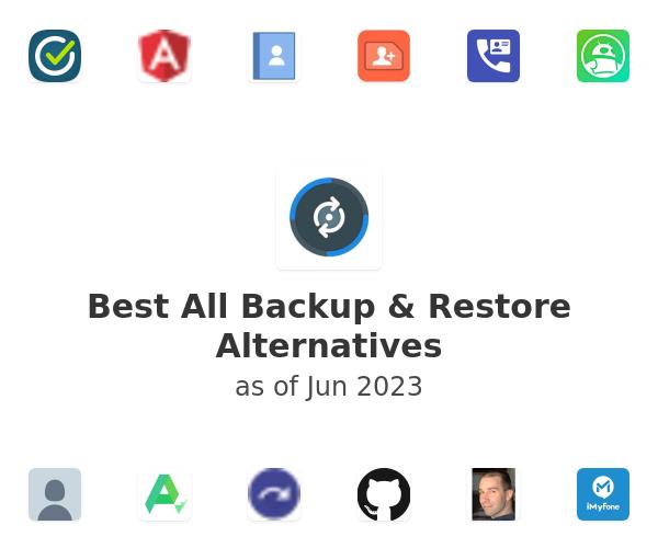 Best All Backup & Restore Alternatives