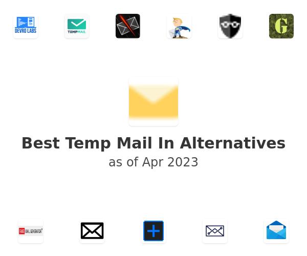 Best Temp Mail In Alternatives