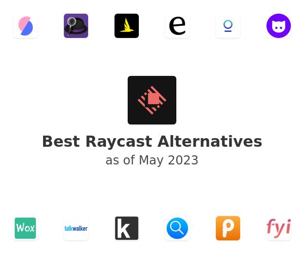 Best Raycast Alternatives
