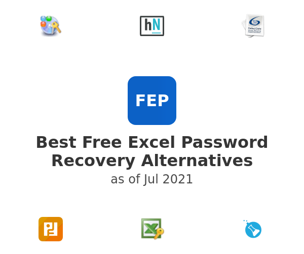 Best Free Excel Password Recovery Alternatives