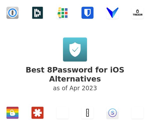 Best 8Password for iOS Alternatives