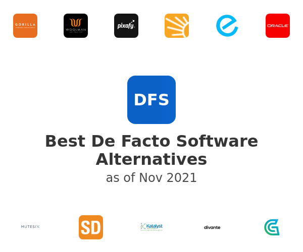 Best De Facto Software Alternatives