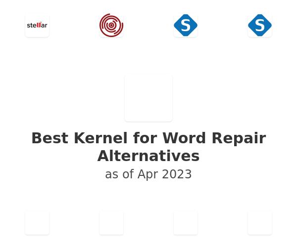 Best Kernel for Word Repair Alternatives