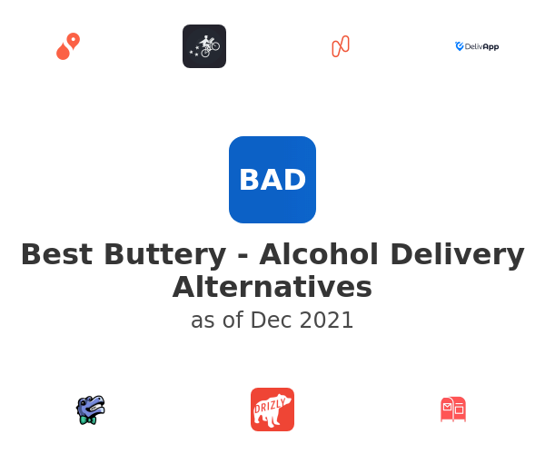 Best Buttery - Alcohol Delivery Alternatives