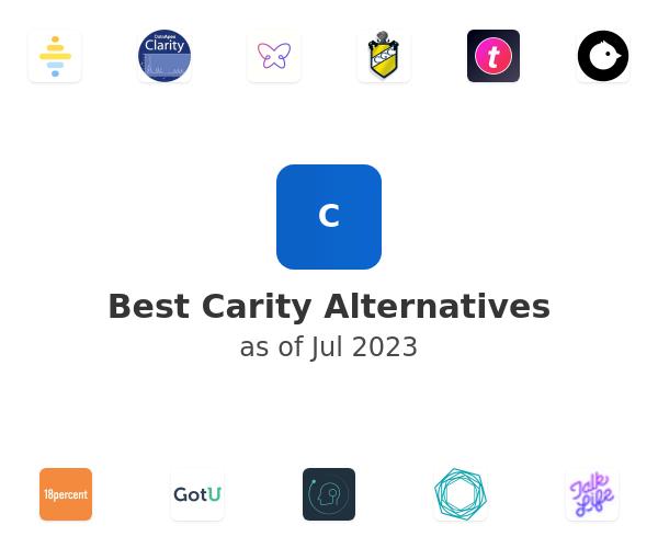 Best Carity Alternatives