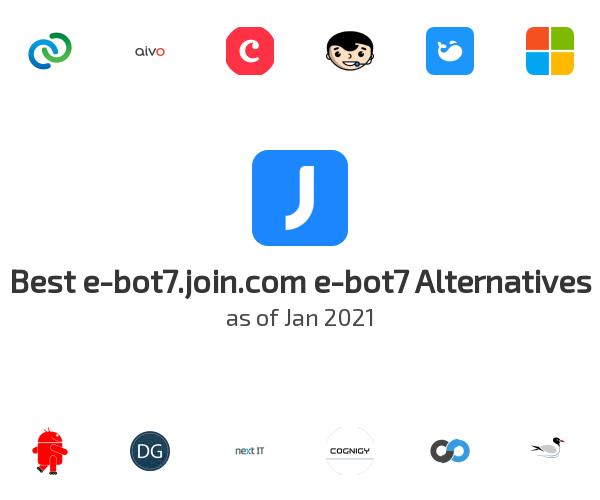 Best e-bot7 Alternatives
