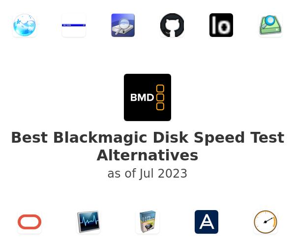 Best Blackmagic Disk Speed Test Alternatives