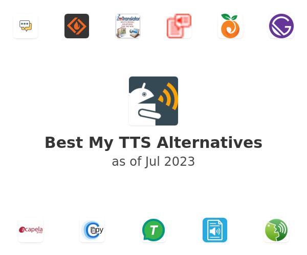 Best My TTS Alternatives
