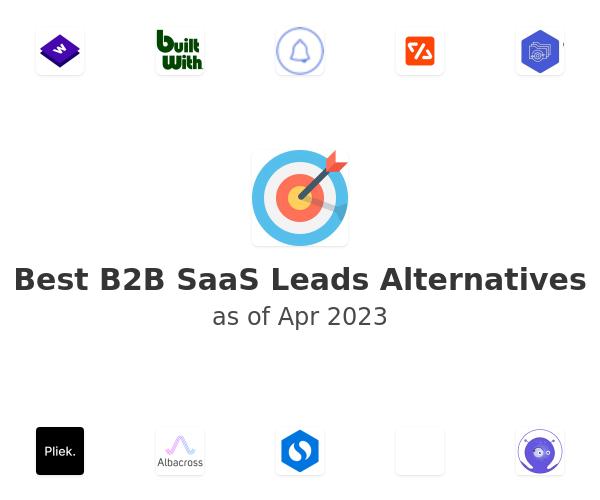 Best B2B SaaS Leads Alternatives