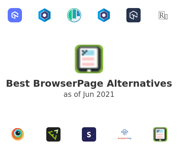 Best BrowserPage Alternatives