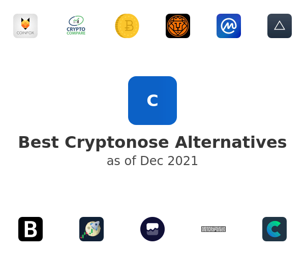 Best Cryptonose Alternatives