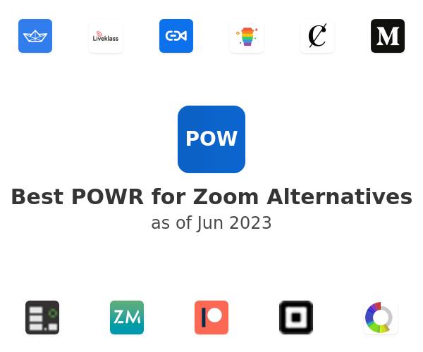 Best POWR for Zoom Alternatives