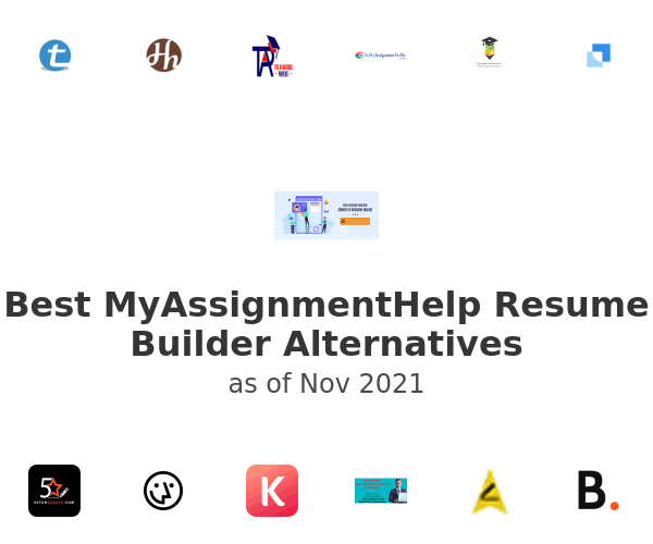 Best MyAssignmentHelp Resume Builder Alternatives