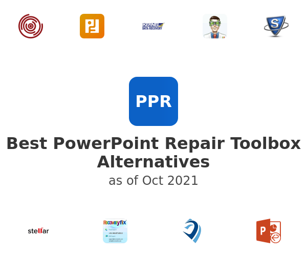 Best PowerPoint Repair Toolbox Alternatives