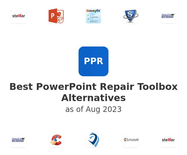 Best PowerPoint Repair Toolbox Alternatives