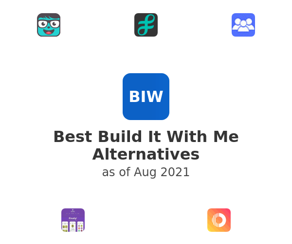 Best Build It With Me Alternatives