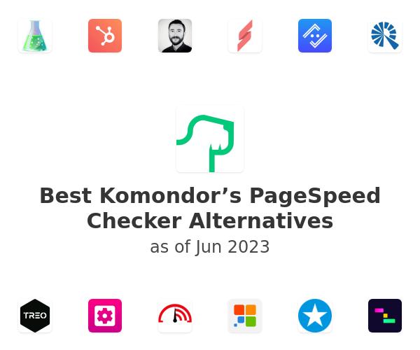 Best Komondor's PageSpeed Checker Alternatives
