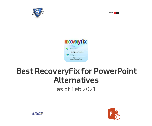 Best RecoveryFix for PowerPoint Alternatives