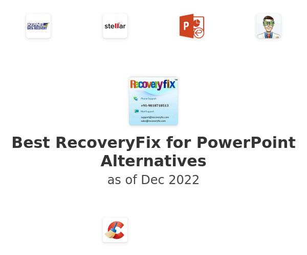 Best RecoveryFix for PowerPoint Alternatives