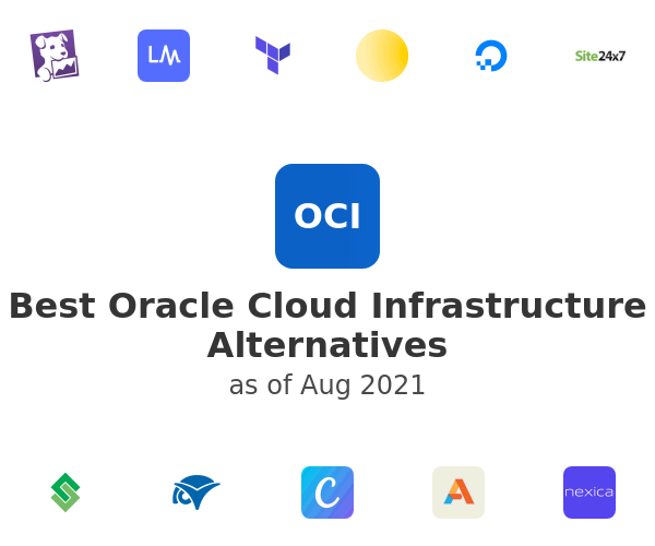 Best Oracle Cloud Infrastructure Alternatives