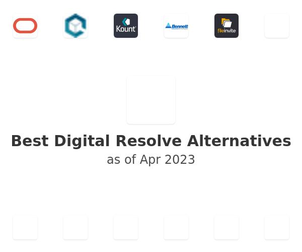 Best Digital Resolve Alternatives