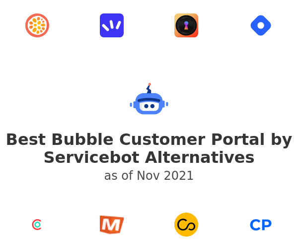 Best Bubble Customer Portal by Servicebot Alternatives