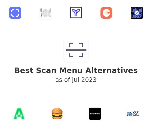 Best Scan Menu Alternatives
