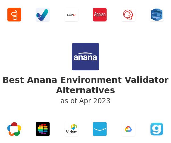 Best Anana Environment Validator Alternatives
