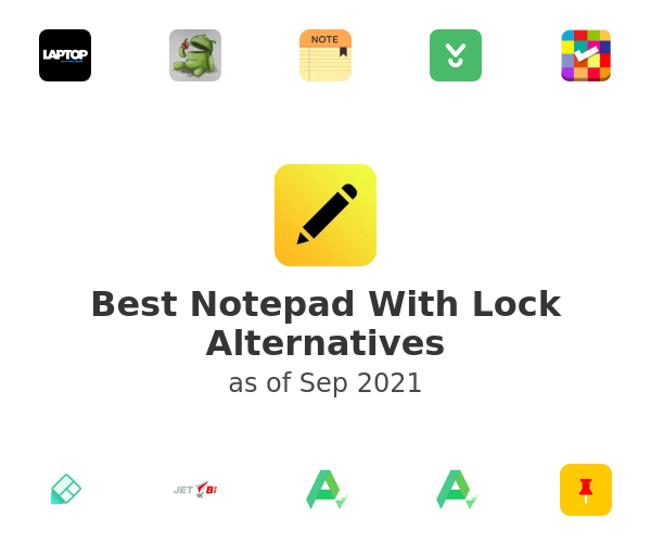 Best Notepad With Lock Alternatives