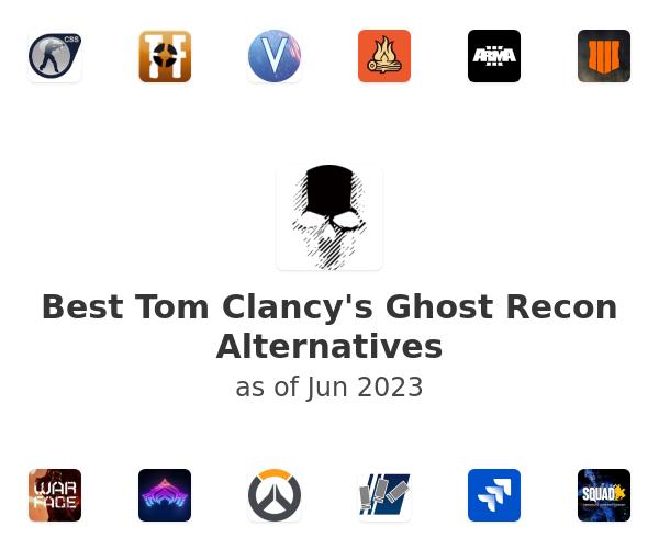 Best Tom Clancy's Ghost Recon Alternatives