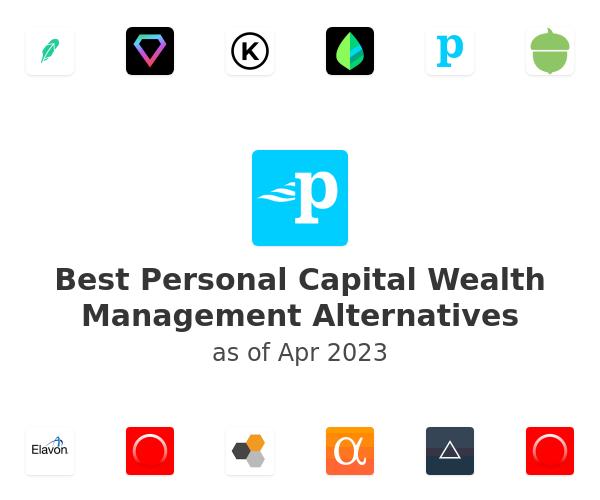 Best Personal Capital Wealth Management Alternatives