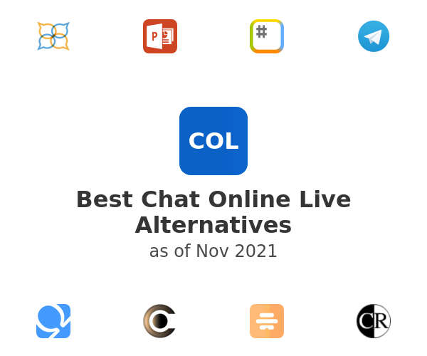Best Chat Online Live Alternatives