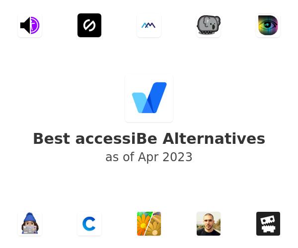 Best accessiBe Alternatives