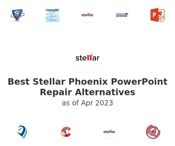 Best Stellar Phoenix PowerPoint Repair Alternatives