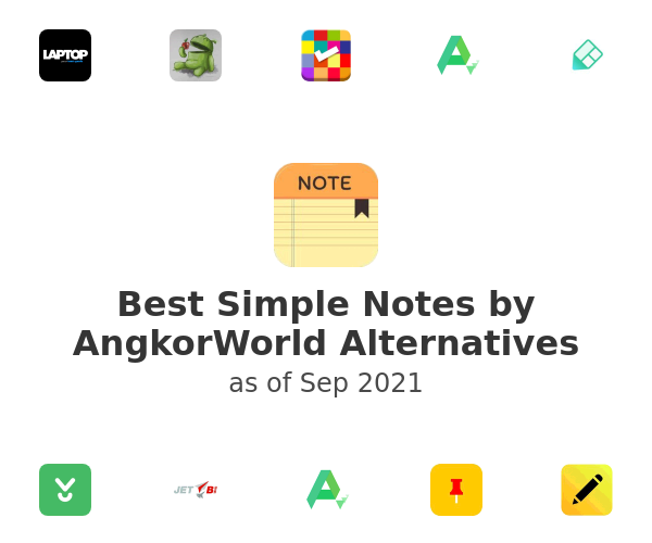 Best Simple Notes by AngkorWorld Alternatives